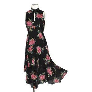 Nanette Lepore Floral Vintage Inspired Dress 4